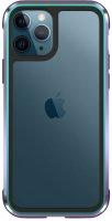 Wiwu Apple iPhone 11 Pro Max Kılıf Defence Armor Serisi Arkası Şeffaf Lisanslı Kapak - Renkli
