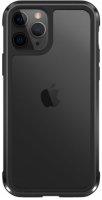 Wiwu Apple iPhone 11 Pro Max Kılıf Defence Armor Serisi Arkası Şeffaf Lisanslı Kapak - Siyah