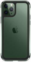 Wiwu Apple iPhone 11 Pro Max Kılıf Defence Armor Serisi Arkası Şeffaf Lisanslı Kapak - Yeşil