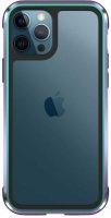 Wiwu Apple iPhone 12 Pro (6.1) Kılıf Defence Armor Serisi Arkası Şeffaf Lisanslı Kapak - Renkli