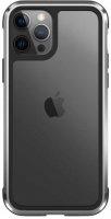Wiwu Apple iPhone 12 Pro Max (6.7) Kılıf Defence Armor Serisi Arkası Şeffaf Lisanslı Kapak - Gümüş