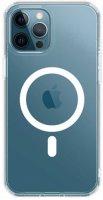 Wiwu Apple iPhone 13 Pro (6.1) Kılıf Magsafe Magnetic Crystal Kapak - Şeffaf