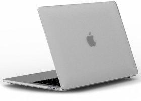Wiwu Apple MacBook 16 inç Touch Bar Kılıf Macbook iShield Serisi Koruyucu Kapak - Beyaz