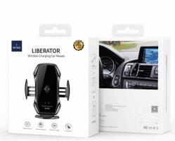 Wiwu CH-304 Liberator Wireless Araç Telefon Tutucu - Siyah