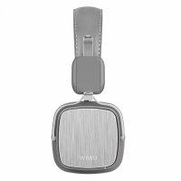 Wiwu Oyuncu Mikrofonlu Kablosuz Bluetooth Wireless Kulaklığı Metro 2 - Gri