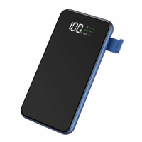 Wiwu W1 PD 8000 Mah Wireless Powerbank - Siyah