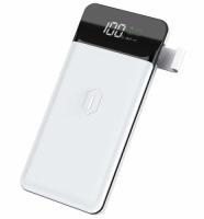 Wiwu W2 PD 10000 Mah Wireless Powerbank - Beyaz