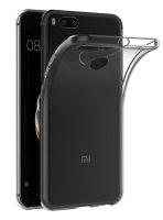 Xiaomi Mi 5X Kılıf Ultra İnce Kaliteli Esnek Silikon 0.2mm - Şeffaf