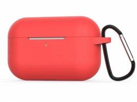 Zore Apple Airpods Pro Kılıf Airbag 11 Soft Silikon - Kırmızı