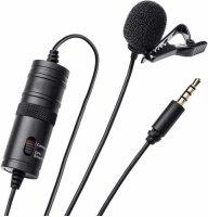 Zore DC-C1 Canlı Yayın Yaka Mikrofonu - Siyah