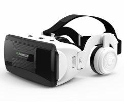 Zore G06EB VR Shinecon 3D Sanal Gerçeklik Gözlüğü Kulaklıklı - Beyaz