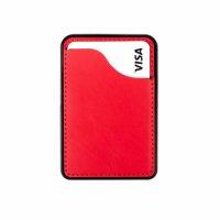 Zore Pro Kartlık Manyetik Arka Yüzey Dikişli - Kırmızı