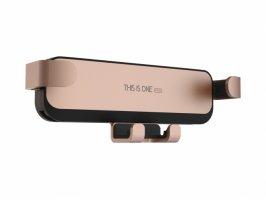 Zore Robotik Araç Telefon Tutucu Metal Girişli CRH-06 - Gold