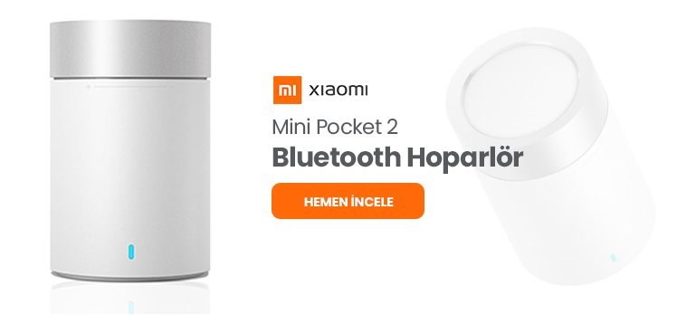 Xiaomi Mi Pocket 2 Bluetooth Hoparlör