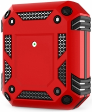 Apple AirPods Kılıf Zırh Korumalı Airbag Kılıf - Kırmızı