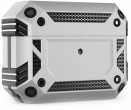 Apple AirPods Pro Kılıf Zırh Korumalı Airbag Kılıf - Gümüş