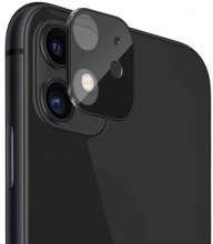 Apple iPhone 11 Metal Kamera Koruyucu  CP-02 - Siyah