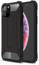 Apple iPhone 11 Pro Max Kılıf Zırhlı Tank Crash Silikon Kapak - Siyah