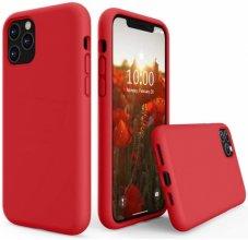 Apple iPhone 11 Pro Max Kılıf İçi Kadife Mat Yüzey LSR Serisi Kapak - Kırmızı