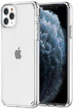 Apple iPhone 11 Pro Max Kılıf Korumalı Kenarları Silikon Arkası Sert Coss Kapak  - Şeffaf