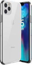 Apple iPhone 11 Pro Max Kılıf Ultra İnce Esnek Süper Silikon 0.3mm - Şeffaf