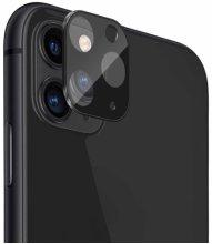 Apple iPhone 11 Pro Max Metal Kamera Koruyucu  CP-02 - Siyah