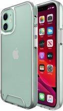 Apple iPhone 12 (6.1) Kılıf Clear Guard Serisi Gard Kapak - Şeffaf