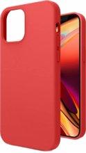 Apple iPhone 12 (6.1) Kılıf İçi Kadife Mat Yüzey LSR Serisi Kapak - Kırmızı