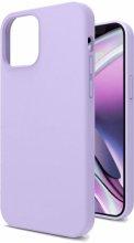 Apple iPhone 12 (6.1) Kılıf İçi Kadife Mat Yüzey LSR Serisi Kapak - Lila