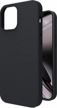 Apple iPhone 12 (6.1) Kılıf İçi Kadife Mat Yüzey LSR Serisi Kapak - Siyah