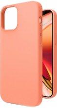 Apple iPhone 12 (6.1) Kılıf İçi Kadife Mat Yüzey LSR Serisi Kapak - Turuncu