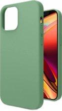 Apple iPhone 12 (6.1) Kılıf İçi Kadife Mat Yüzey LSR Serisi Kapak - Yeşil