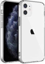Apple iPhone 12 (6.1) Kılıf Zore Süper Silikon - Şeffaf