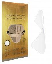 Apple iPhone 12 Pro (6.1) Ekran Koruyucu Gold Nano Esnek Film Kırılmaz - Şeffaf