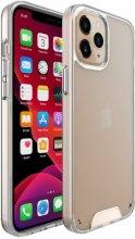 Apple iPhone 12 Pro (6.1) Kılıf Clear Guard Serisi Gard Kapak - Şeffaf