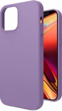 Apple iPhone 12 Pro (6.1) Kılıf İçi Kadife Mat Yüzey LSR Serisi Kapak - Mor
