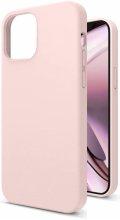 Apple iPhone 12 Pro Max (6.7) Kılıf İçi Kadife Mat Yüzey LSR Serisi Kapak - Pudra