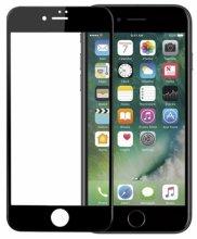 Apple iPhone 8 Ekran Koruyucu Fiber Tam Kaplayan Nano - Siyah