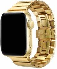 Apple Watch 40mm KRD-41 Ayarlanabilir Metal Kordon - Gold