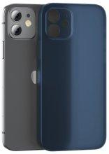 Benks Apple iPhone 12 (6.1) Ultra Kılıf Lollipop Serisi Matte Protective Cover - Lacivert