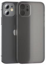 Benks Apple iPhone 12 (6.1) Ultra Kılıf Lollipop Serisi Matte Protective Cover - Siyah