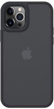 Benks Apple iPhone 12 Pro (6.1) Case Hybrid Serisi Silikon Mat Kapak - Siyah