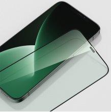Benks Apple iPhone 12 Pro (6.1) Ekran Koruyucu 0.3mm V Pro Dust Proof Green Light - Siyah