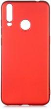 General Mobile GM 10 Kılıf İnce Mat Esnek Silikon - Kırmızı