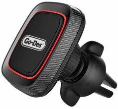 Go Des H611 Serisi Mıknatıslı Araç Telefon Tutucu - Siyah