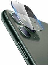 Go-Des Apple iPhone 11 Pro Max Lens Shield Şeffaf Temperli Kamera Koruyucu  - Renksiz