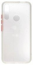Honor 9x Kılıf Exlusive Arkası Mat Tam Koruma Darbe Emici - Beyaz