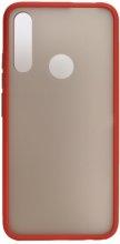 Honor 9x Kılıf Exlusive Arkası Mat Tam Koruma Darbe Emici - Kırmızı