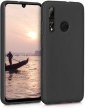 Honor 9x Kılıf İnce Mat Esnek Silikon - Siyah