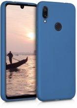 Huawei Honor 10 Lite Kılıf İnce Mat Esnek Silikon - Lacivert